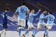 Babak I: Chelsea Babak Belur, Man City Unggul Tiga Gol