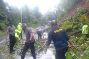 Kapolres Sangihe Perintahkan Jajarannya Tangani dan Antisipasi Bencana Alam