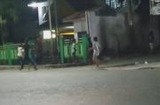 Tawuran Kelompok Remaja Pecah di Medan, Aparat Polsek Dibantu Brimob Lakukan Tindakan Tegas