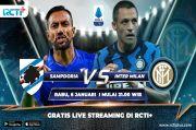 Preview Sampdoria vs Inter Milan: Saatnya Geser AC Milan