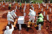 Orang Meninggal Akibat Covid-19 di Tangsel Meledak, Petugas Pemakaman Kewalahan