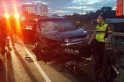 Diduga Ngantuk, Sopir Minibus Tewas Akibat Seruduk Belakang Truk di Flyover Pasupati Bandung