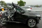 Begini Kondisi Mobil Eks Trio Macan Chacha Sherly Usai Tabrakan Maut di Tol Semarang