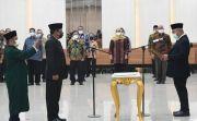 Dilantik, Bernad Sutrisno Resmi Jabat Sekjen KPU