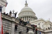 Dunia Terkejut Melihat Ulah Pendukung Trump Duduki Gedung US Capitol