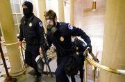 Situasi Gedung Capitol Chaos, Trump Didesak Tutup Mulut