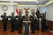 Kapolri Anugerahi Ketua BPK, KSAL, KSAU dan Mantan Kepala BNN Bintang Bhayangkara Utama