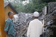 Tasikmalaya Diguyur Hujan Deras, 1 Masjid Ambruk Tertimbun Longsor