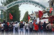 Pupuk Langka, Massa Gabungan LSM dan Petani Datangi Petrokimia Gresik