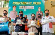 Polres Pelabuhan Tanjung Perak Gagalkan Pengiriman 7 Kg Sabu Asal Malaysia