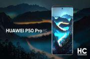 Beredar Foto Terbaru Huawei P50 Pro dengan Waterfal Screen