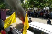Musda Partai Golkar Pangandaran Ricuh, Massa Bakar Sebuah Sepeda Motor