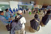 Penerbangan Umrah Kembali Dibuka, Ratusan Jamaah Berangkat dari Bandara Juanda