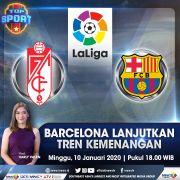 Top Sport Live di iNews dan RCTI+Minggu Pukul 18.00: Barcelona Lanjutkan Tren Kemenangan