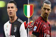Peramal Sebut Duo Milan Bakal Ganggu Dominasi Juventus, Ronaldo Perlu Waspadai Ibra