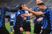 Inter Milan Cuma Pungut Satu Poin di Markas Serigala Roma