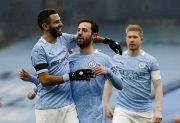 Brace Bernardo Silva Warnai Kemenangan Manchester City atas Birmingham
