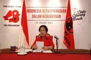 HUT ke-48 PDIP, Megawati: Visi Misi NKRI Hanya Satu Pembukaan UUD 1945