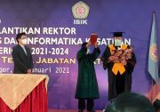 Jadi Rektor IBIK, Ini Pesan Prof Moermahadi untuk Generasi Muda Indonesia