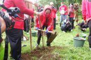 Peringati HUT ke-48, DPD PDIP Jawa Timur Tanam Pohon dan Bersih-Bersih 24 Sungai