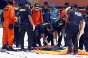 Kabaharkam Polri Cek Langsung Proses Pencarian Korban Sriwijaya Air SJ 182
