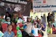 Indonesia CARE dan Komunitas Jurnalis Pilantropi Salurkan Bantuan untuk Mualaf Baduy