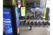 PPKM Berlaku Hari Ini, Stasiun Gambir Masih Sepi Penumpang