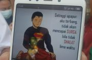Keluarga Akui DP WA Pilot Sriwijaya Air Kapten Afwan Bergambar Superman Salat