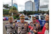 PSBB Ketat di Jakarta, Ditlantas Polda Metro Jaya Perketat Pengawasan di Terminal Bus