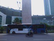 PKM Berlaku Mulai Hari Ini, Operasional Bus Transjakarta Berakhir Pukul 20.00 WIB