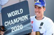 Konsistensi Kunci Keberhasilan Joan Mir Juara Dunia MotoGP