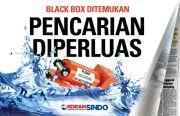 Black Box Sriwijaya Air SJ-182 Ditemukan, Pencarian Diperluas