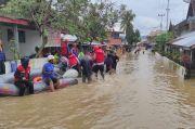 Banjir dan Longsor Terjang Solok, Ribuan Rumah Warga Terendam