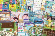 Di Tengah Serbuan Game Online, Mainan Edukatif Anak Muslim Laris Terjual