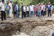 Banjir Bandang Hantam Simalungun, Jembatan Penghubung Antar Desa Ambruk