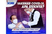 iNews Sore Live di iNews dan RCTI+ Rabu Pukul 15.45: Vaksin Covid-19, Apa Efeknya?