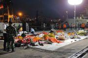 Hari Ke-5, 141 Kantong Jenazah dan 59 Kantong Serpihan Pesawat Sriwijaya Dievakuasi