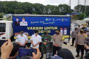 Vaksin untuk Batam Tiba Melalui Pelabuhan Telaga Punggur