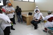 Jelang Vaksinasi Besok, Gubernur Ganjar Cek Kesiapan Faskes di Kota Semarang