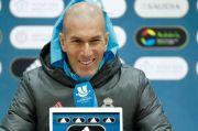 Zidane Ogah Komentari Tanggapan Presiden La Liga
