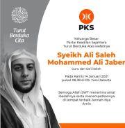 Syekh Ali Jaber Meninggal Dunia, PKS Turut Berduka