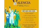 HUT ke-28 di Tengah Pandemi, Valencia Tanoesoedibjo Galang Donasi untuk 5 Rumah Sakit