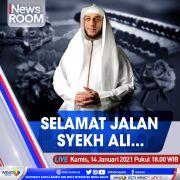 iNews Room Live di iNews dan RCTI+ Kamis Pukul 18.00: Selamat Jalan Syekh Ali Jaber