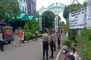 Rumah Duka Syekh Ali Jaber di Pulogadung Jakarta Timur Dijaga Ketat