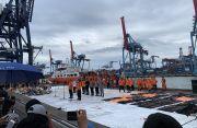 Pencarian Hari Keenam, Kapal KN SAR KARNA Bawa 36 Kantong Body Part Sriwijaya Air
