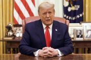 Dimakzulkan Kedua Kali, Trump Minta Pendukungnya Tetap Tenang