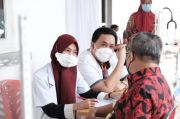 Jadi Orang Pertama Disuntik Vaksin di Gowa, Begini yang Dirasakan Kadis Capil