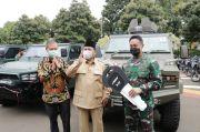 Perkuat Alutsista 3 Matra, Menhan Serahkan Rantis Canggih J-Force ke TNI