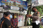 Jelang Akhir Pekan di Bogor, Polisi Gencar Ingatkan Risiko Penularan Covid-19