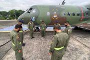 TNI AU Terbangkan Alutsista Bantu Korban Gempa Majene